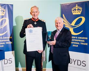 Boyds presented with Queen's Award for Enterprise
