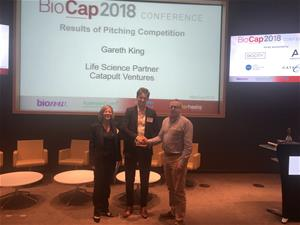 2018 BioCap Call for Pitches Competition Winner Announced