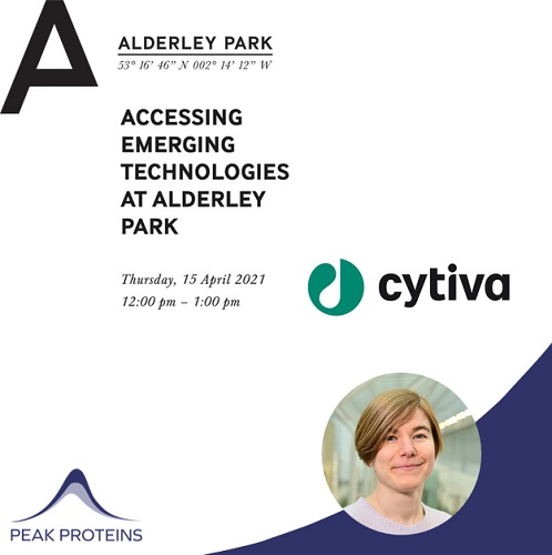 Accessing Emerging Technologies at Alderley Park