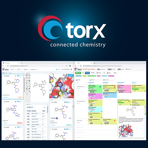 Torx™ - a new web-based platform to keep chemists connected for faster quality candidate selection